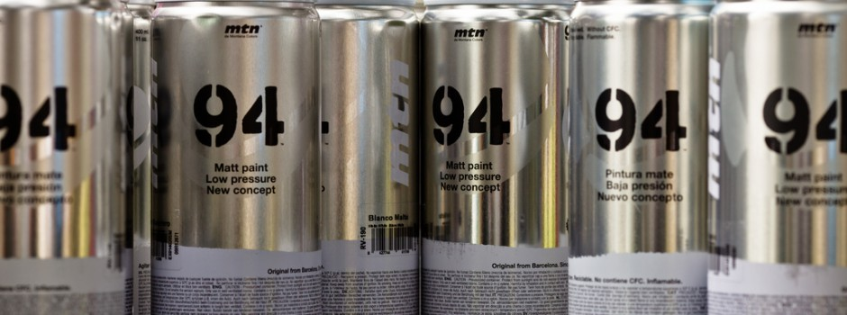 MTN 94 Spray Paints